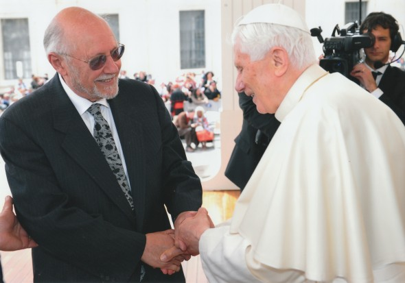 Rabbi Bemporad and Pope Benedict XVI