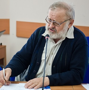 Mr. Roman Kis, Professor of Philosophy, writer, and representative of the Protestant community in Lviv.