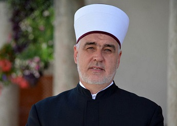 Husein Kavazović, the Grand Mufti of Bosnia and Herzegovina
