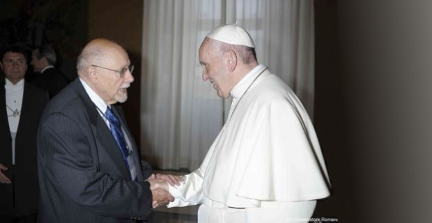 Rabbi Bemporad and Pope Francis Join Forces for Refugees