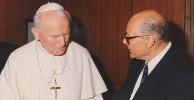 Bemporad speaks at Pope John Paul II Commemoration